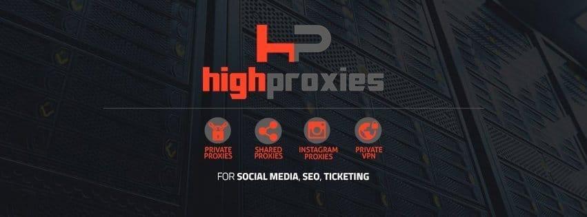 High Proxies promo code