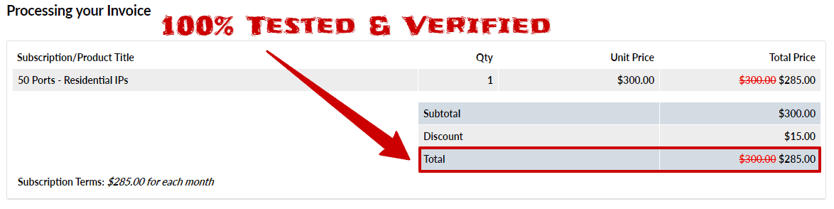 After Using Our Storm Proxies Coupon code Total Savings